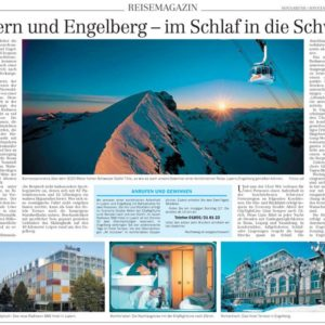 Abbildung: Kooperation CityNightLine Sächsische Zeitung