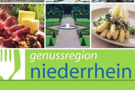 Abbildung: Broschüre der Genussregion Niederrhein