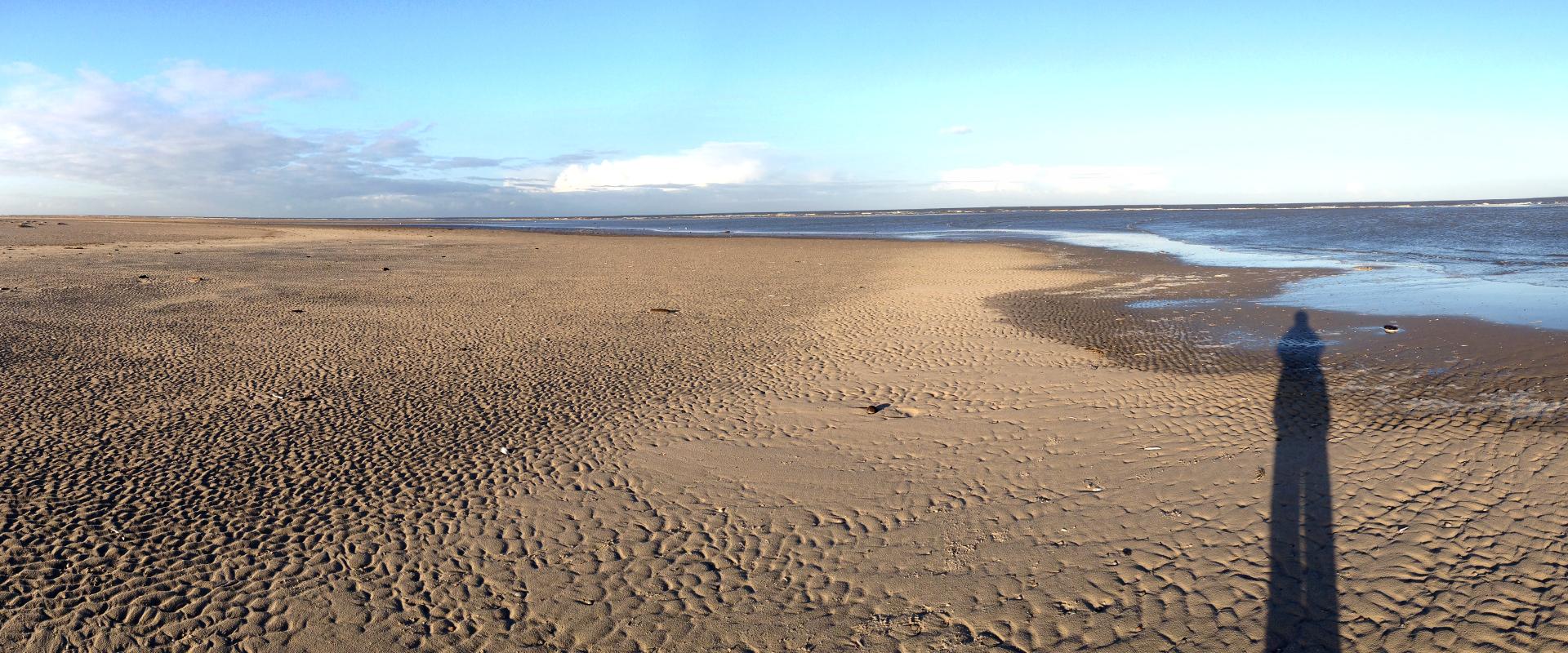 Foto: weiter Nordseestrand