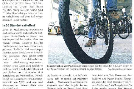 Abbildung: Ferien-Fahrradschule in der AHGZ