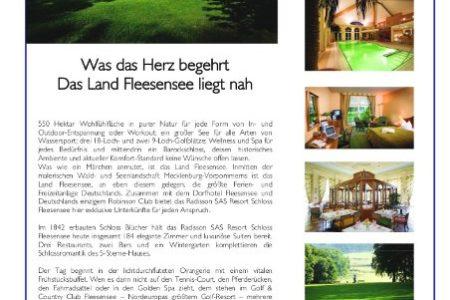 Abbildung: Kooperation Land Fleesensee und AOK
