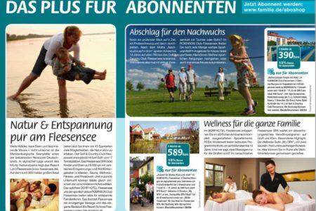 Abbildung: Kooperation Land Fleesensee und Familie & Co.