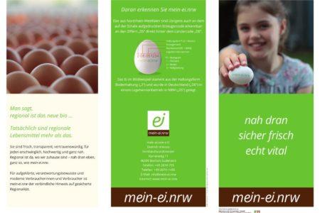 Abbildung: mein-Ei.NRW Flyer