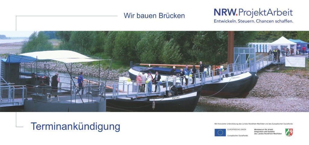 Abbildung: NRW.ProjektArbeit Terminankündigung