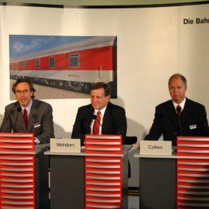 Foto: Pressekonferenz DB Nachtzug Frankfurt a. M.